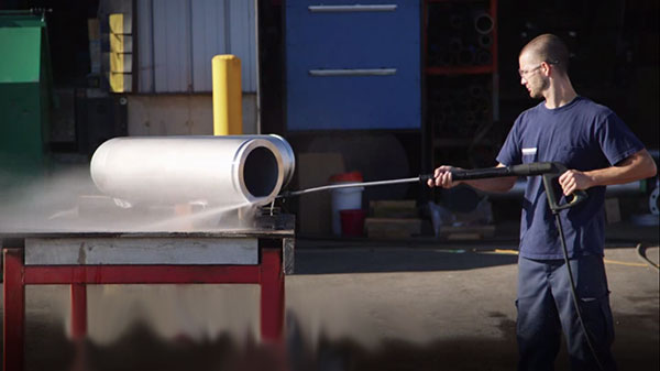 Pipe Fabrication - Cleaning
