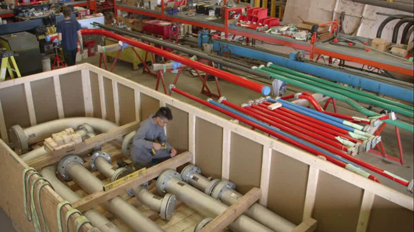 Pipe Fabrication - Packing